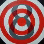 Bullseye number 8