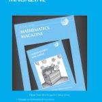 Mathematics Magazine Cover Illustration.