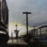 Sunset Series – Kirkham, acrylic on canvas.