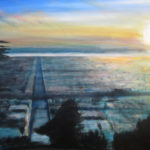 Sunset Series – Moraga, acrylic on canvas.