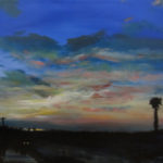 Sunset Series – Pacheco, acrylic on canvas.