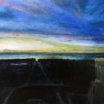 Sunset Series – Quintara, acrylic on canvas.
