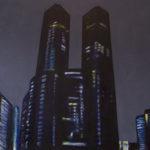 The State (Shinjuku), acrylic on canvas.